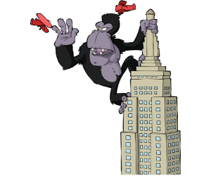 King Kong, un goril·la colossal i monstruós Joc